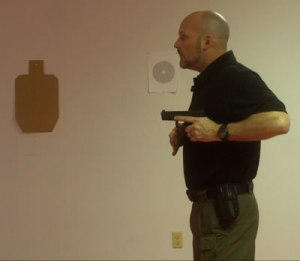 Get that gun pointed at the target right out of the holster!